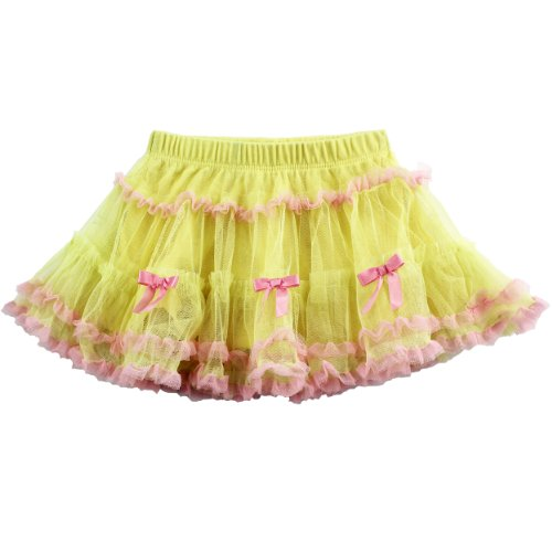 Toddler Yellow Ruffle Tulle Skirt 1303025Y (2T)
