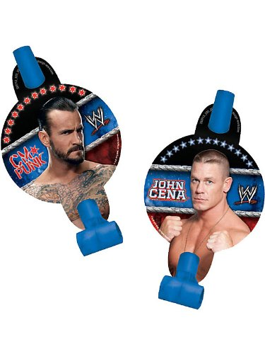 Wwe Party Blowers (8-pack)