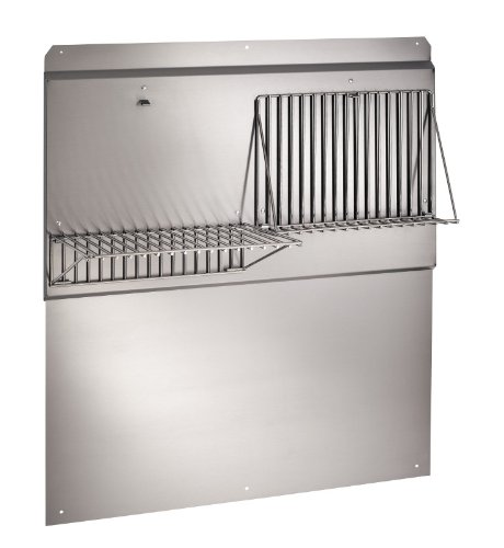 Broan RMP3604 Backsplash, 36-Inch, Stainless Steel (6 Inch Stainless Steel Shelf compare prices)