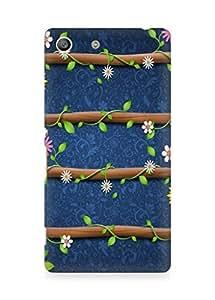 Amez designer printed 3d premium high quality back case cover forSony Xperia M5 (cute floral)