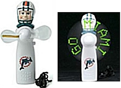 Miami Dolphins Nfl Licensed Led Hand Held Light Up Fan