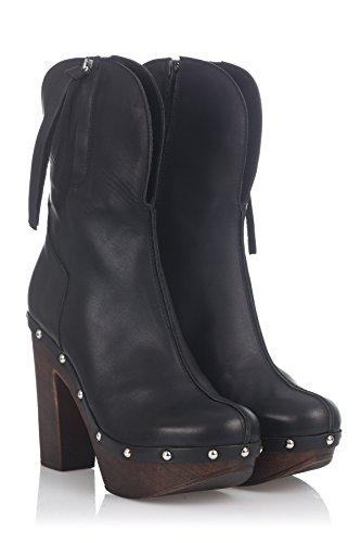 Laura Moretti Donna Swedish Nailed Boot stivaletti