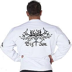 BIG SAM Sweater Sweatshirt Jacket Hoody UNCLE BODY DOG Logo *4572*