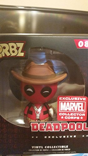Funko Dorbz Cowboy Deadpool Marvel Collector Corps Exclusive Vinyl Figure by Deadpool