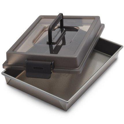 KitchenAid Professional-Grade Cake Pan with Lid KBNSO9X13 , 13