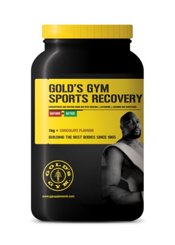 Gold's Gym Sports Recovery Chocolate 800g