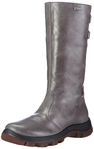 NaturinoNATURINO YULE - Stivaletti e stivali corti imbottiti per neve e freddo Bambina , Grigio (grigio (grigio)), 29