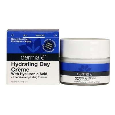 Derma E Skin Care Hyaluronic Acid Day Creme, 2 Ounce -- 2 Per Case.