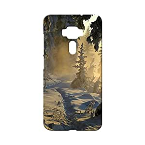 BLUEDIO Designer Printed Back case cover for Asus Zenfone 3 (ZE552KL) 5.5 Inch - G3464