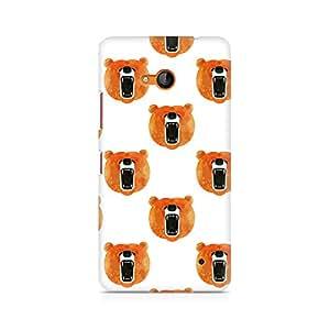 Ebby Bear Roar Premium Printed Case For Nokia Lumia 640