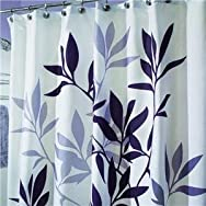 Interdesign 35620 Graphic Fabric Shower Curtain
