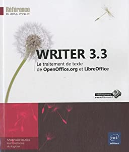 Texte writer 3 3 le traitement de texte de openoffice - Telecharger traitement de texte open office ...