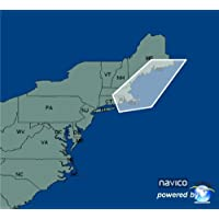 Rhode Island to Maine- Lowrance Map