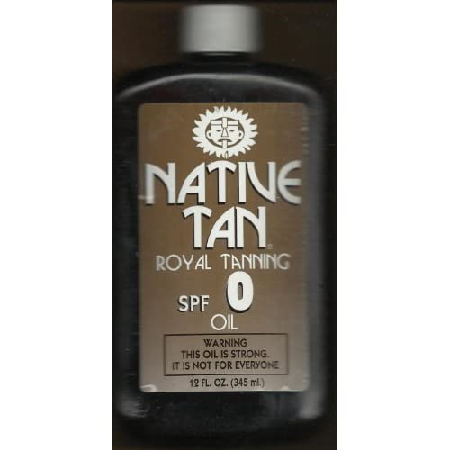 Amazon.com : Native Tan Royal Tanning Oil Spf 0 with 12oz : Beauty
