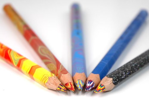 【KOH-I-NOOR】コヒノール ゴシックペン マジックペンシル 太軸3色いろえんぴつ ファイヤー