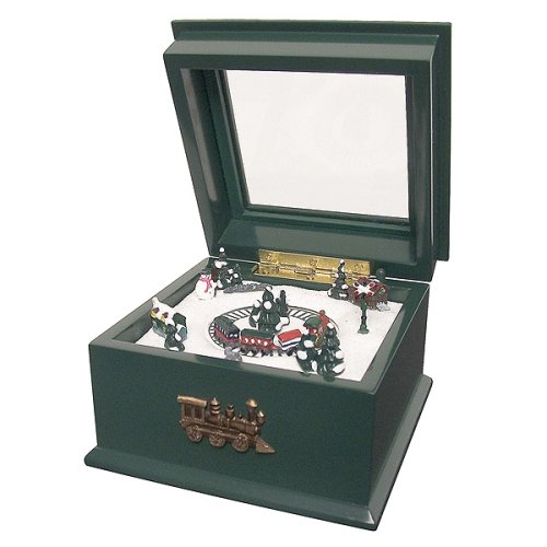 Crosley Mini Train Music Box - Green