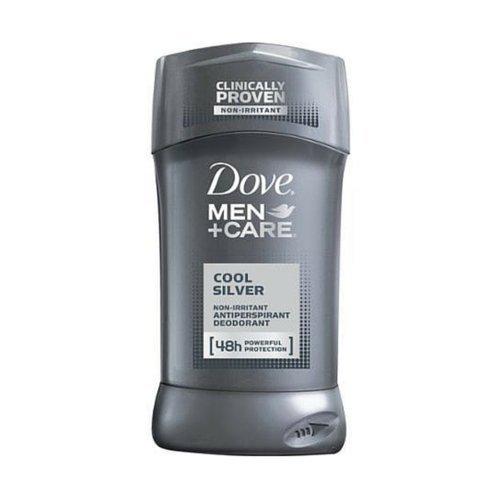 Dove Men + Care Cool Silver Antiperspirant Deodorant 2.7 Oz (Pack of 4) by Dove