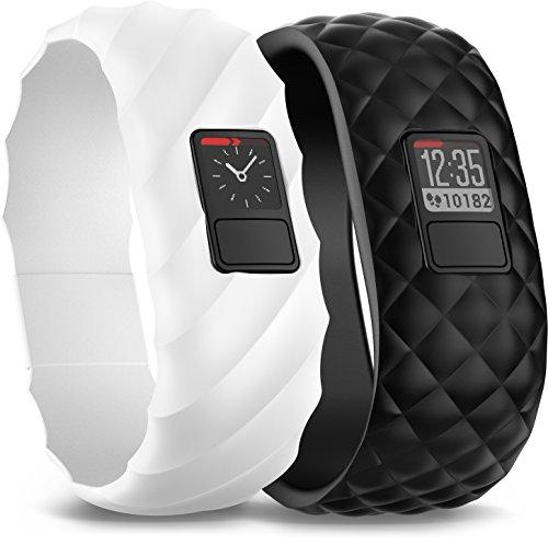 Garmin Vívofit 3 - Pack de coreas para pulsera de actividad, unisex, color negro, talla regular