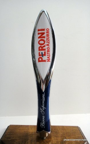 peroni-brewery-italy-premium-lager-nastro-azzurro-keg-tap-knob-handle