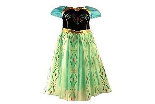 Anna Princess for Kids Girls Frozen Costumes