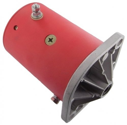 New Snow Plow Motor, Western, Fisher, Rotation: Cw, 12 Volts, 17.3 Lbs / 7.86 Kg