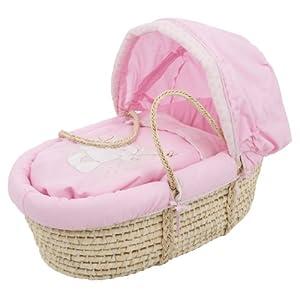 Obaby B is for Bear Moses - Capazo para recién nacido, color rosa marca Obaby