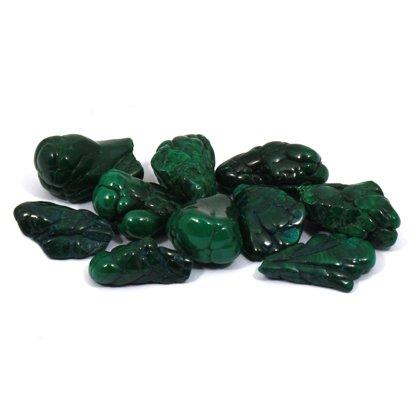 Botryoidal Malachite Tumble Stone (20-25mm) - Single Stone