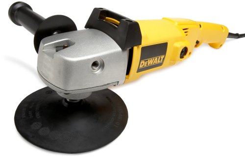 DEWALT DW849 8.0 Amp 7-Inch/9-Inch Electronic Variable Speed Right Angle Polisher
