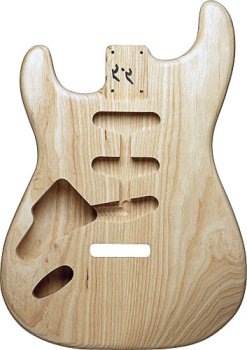 REPLACEMENT STRAT® BODY ASH LEFT HAND UNFINISHED image