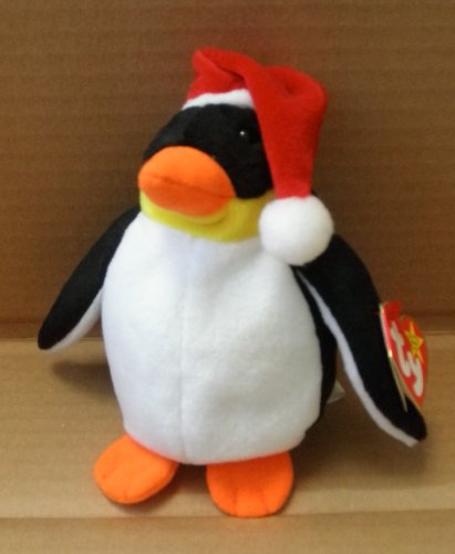 TY Beanie Babies Zero the Christmas Penguin Stuffed Animal Plush Toy - 6 inches tall - 1