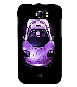 PrintDhaba Car D-4393 Back Case Cover for MICROMAX A110 CANVAS 2 (Multi-Coloured)