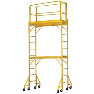 Pro Series Towerint Two Story Interior Rolling Scaffold