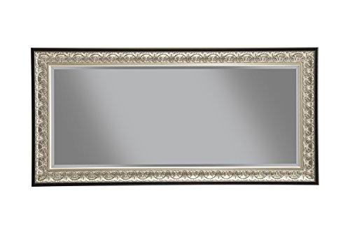 Sandberg Furniture 16011 Full Length Leaner Mirror Frame, Antique Silver/Black 1