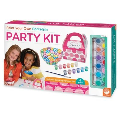 Paint Your Own Porcelain Party Kit (How To Bake Po compare prices)