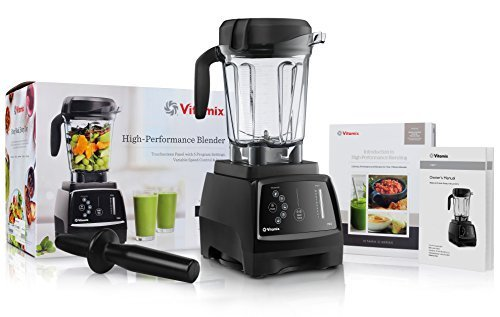 Vitamix 780 G-Series Next Generation Series Touchscreen Blender with 64-Ounce Container + Introduction to High Performance Blending Recipe Cookbook + Low-Profile Tamper (Vitamix Next Generation compare prices)