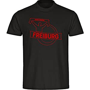 Shirt Fankurve Freiburg Herren schwarz Gr. S - 5XL