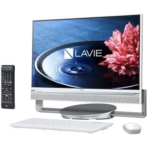 LAVIE Desk All-in-one DA770/BAW PC-DA770BAW