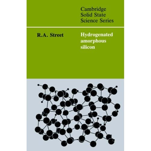 hydrogenated amorphous silicon. Hydrogenated Amorphous