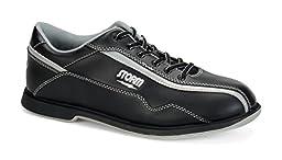 Storm Volkan Bowling Shoes, Black/Silver, 11.0