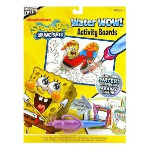 Giddy-Up Water Wow Activity Boards (Spongebob) - 1
