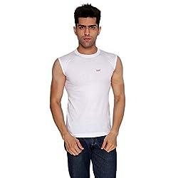 Basic Ribneck Sleeveless Vest (Pack of 2)