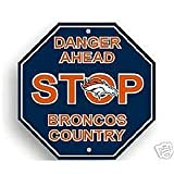 NFL Denver Broncos Stop Sign at Amazon.com