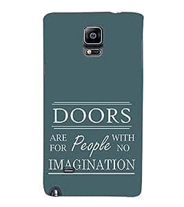 EPICCASE Imagination Mobile Back Case Cover For Samsung Galaxy Note 4 EDGE (Designer Case)