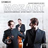 モーツァルト:ディヴェルティメント 変ホ長調 K.563 他 (Trio Zimmermann plays Mozart's Divertimento) (SACD Hybrid)