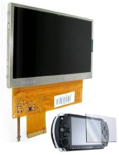 Sony PSP LCD Screen Replacement/Backlight +FREE Shields