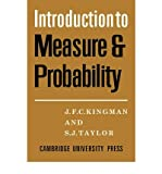 img - for [ [ [ Introdction to Measure and Probability[ INTRODCTION TO MEASURE AND PROBABILITY ] By Kingman, J. F. C. ( Author )Nov-01-2008 Paperback book / textbook / text book