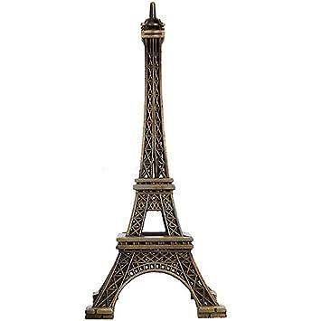 15cm tour eiffel mod le m tallique m tallique couleur bronze romantique d coration. Black Bedroom Furniture Sets. Home Design Ideas
