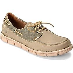 Born Chad 2-Eye Oxford Men's Shoes (Bath/Green)