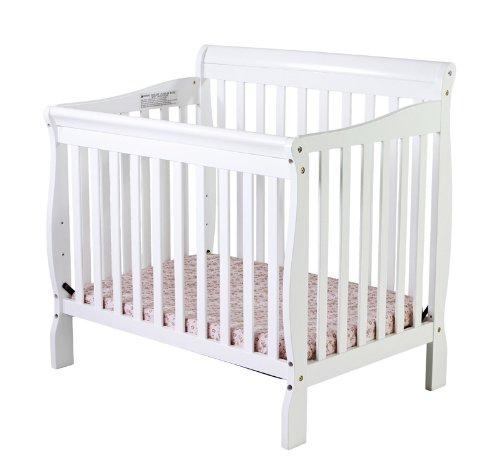 Dream On Me 4 In 1 Aden Convertible Mini Crib, White front-980433