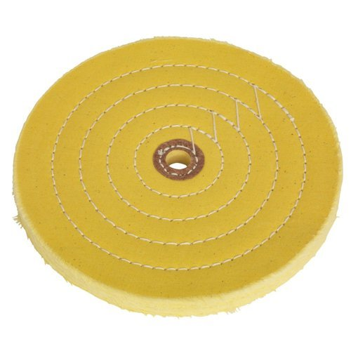 Sealey BG200BWC Coarse Buffing Wheel for Bench Grinder, Dia 200 x 16 mm, Bore 16 mm